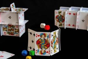 Truco de magia con cartas